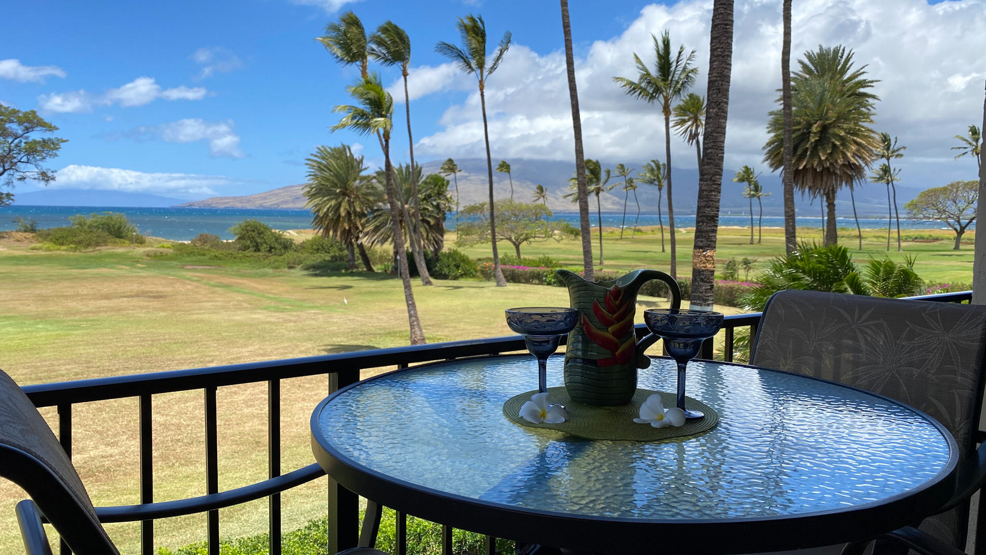 A201 Lanai Dining and View