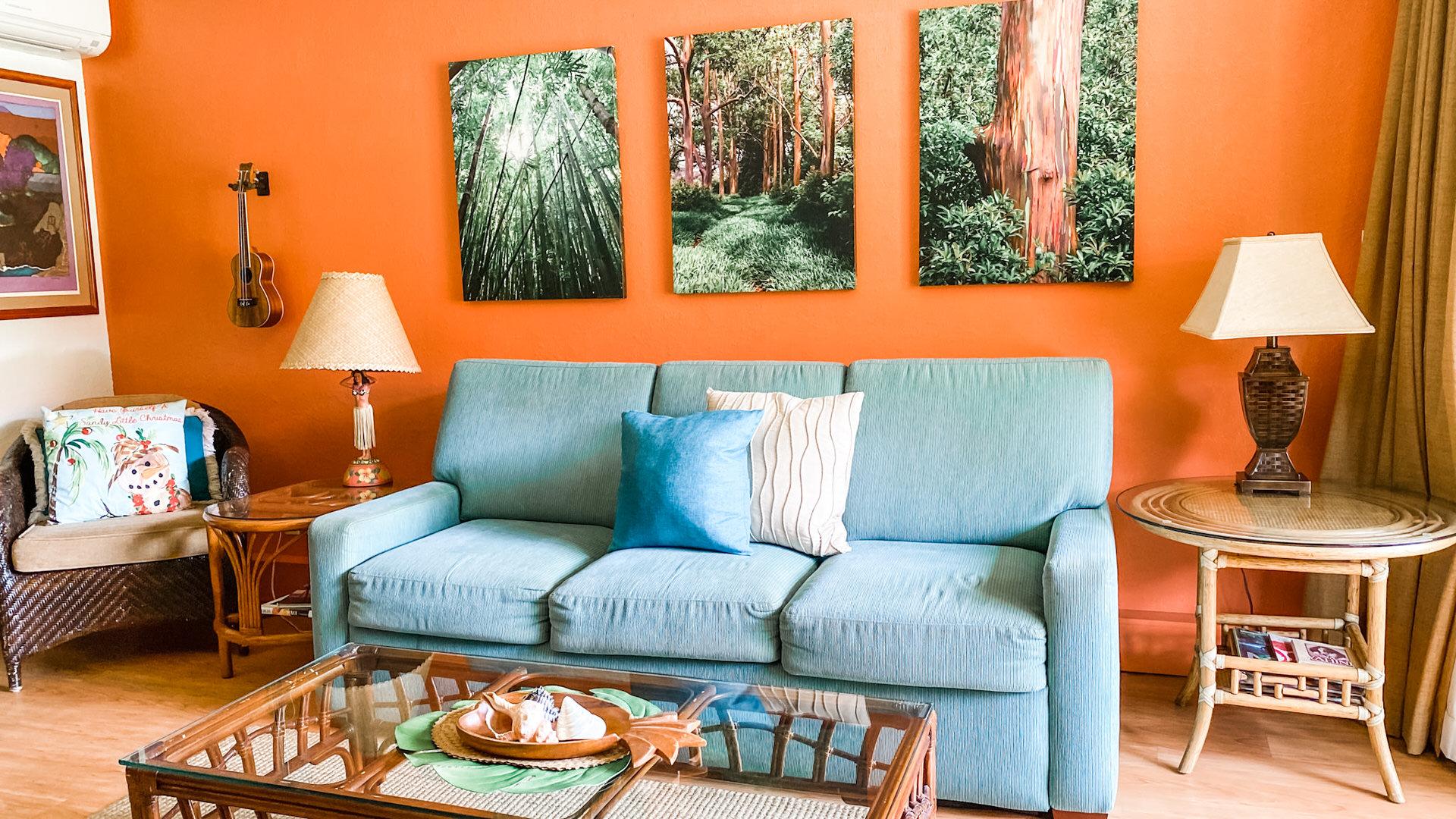 C107 Sofa, Living Room