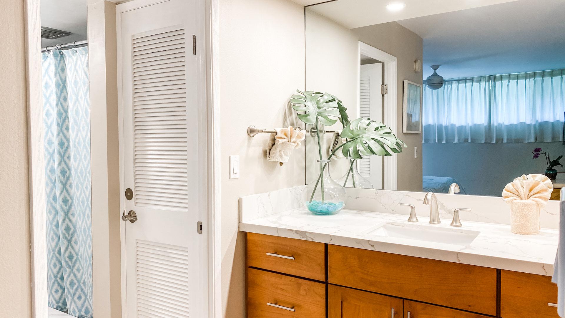 B103 Master Bathroom and Vanity