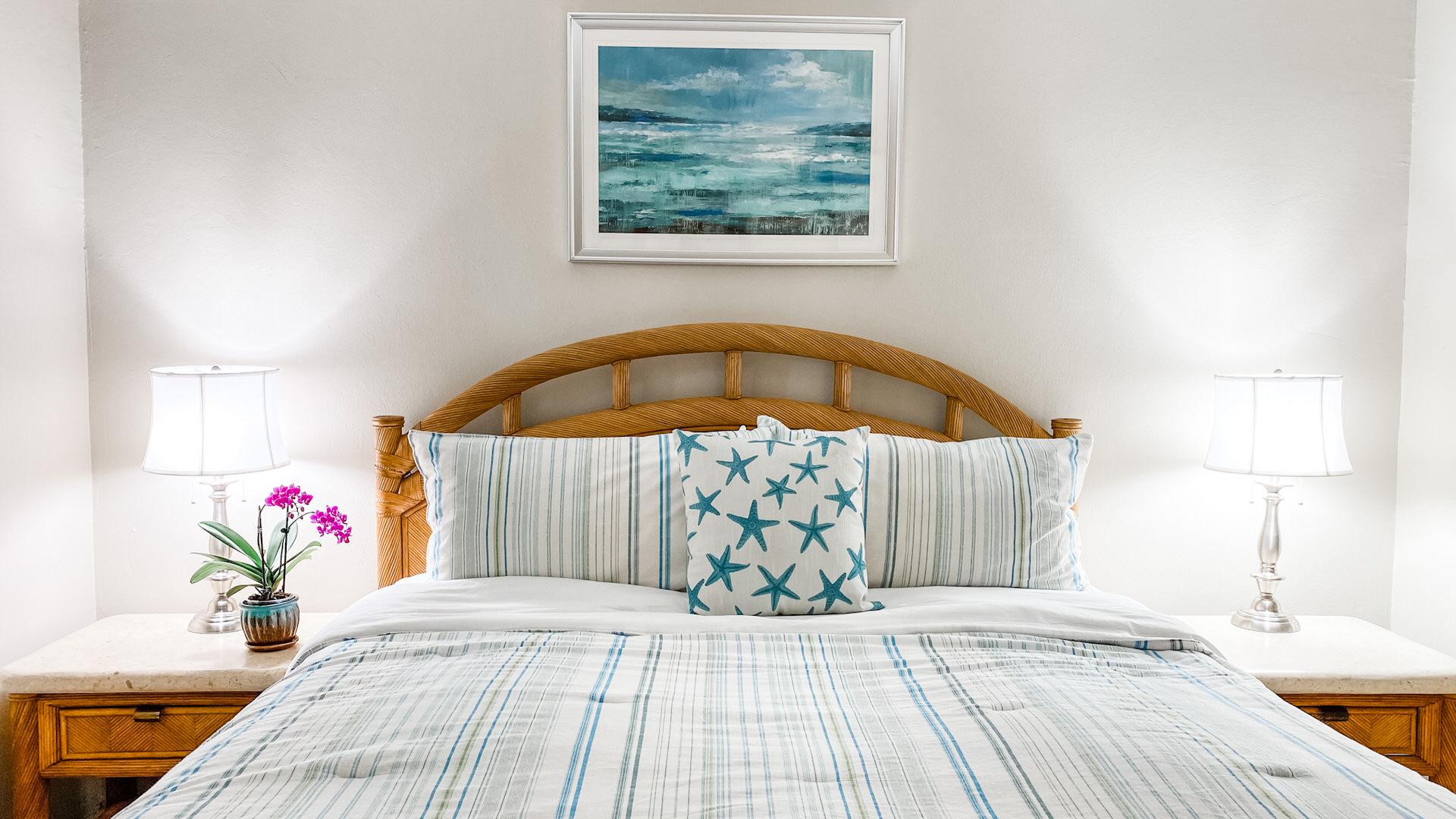 B103 Master Bedroom King Size Bed