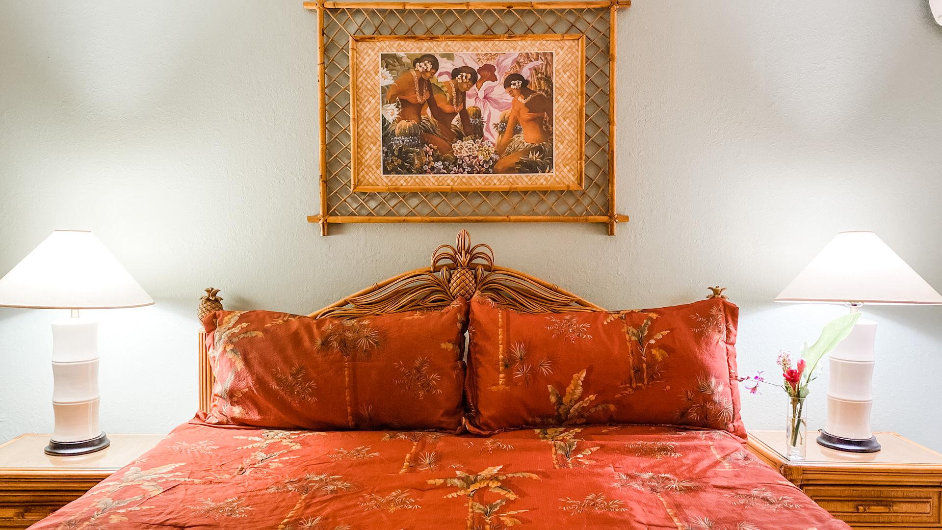 B202 Master Bedroom King Size Bed