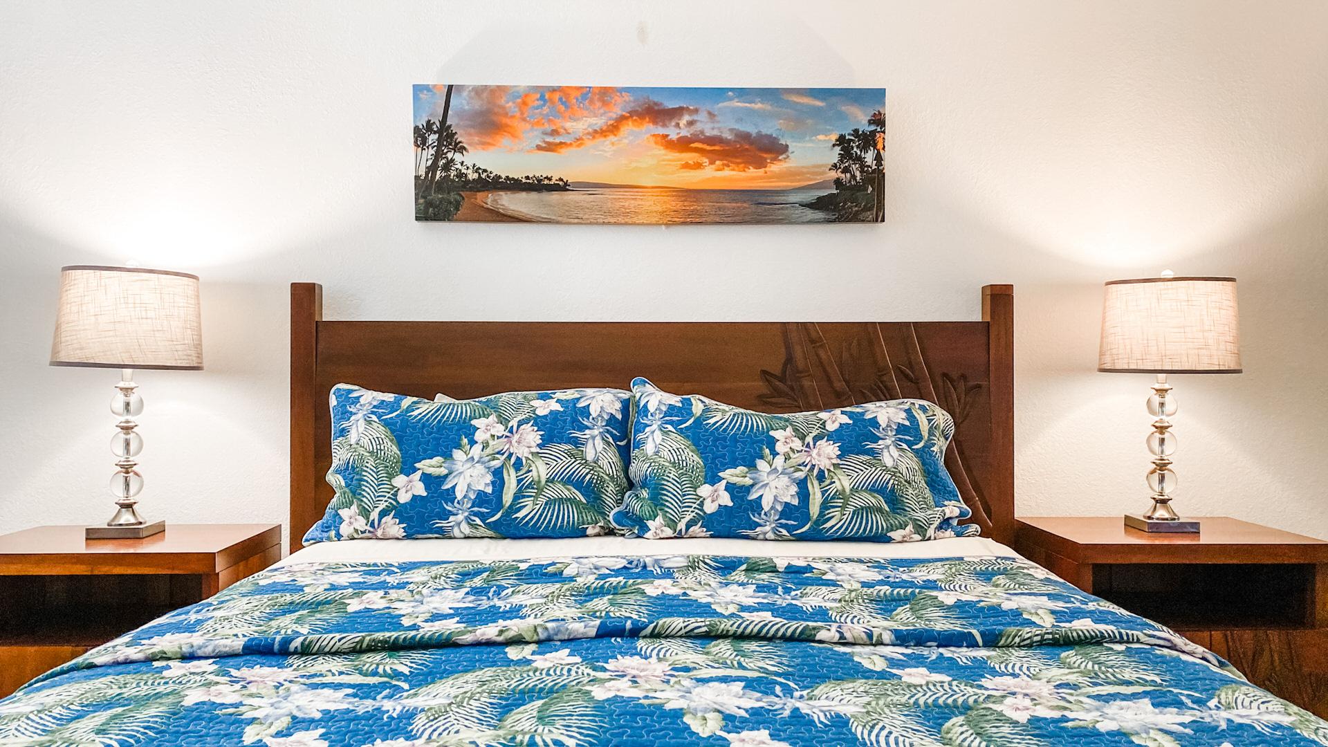 B207 Master Bedroom King Size Bed