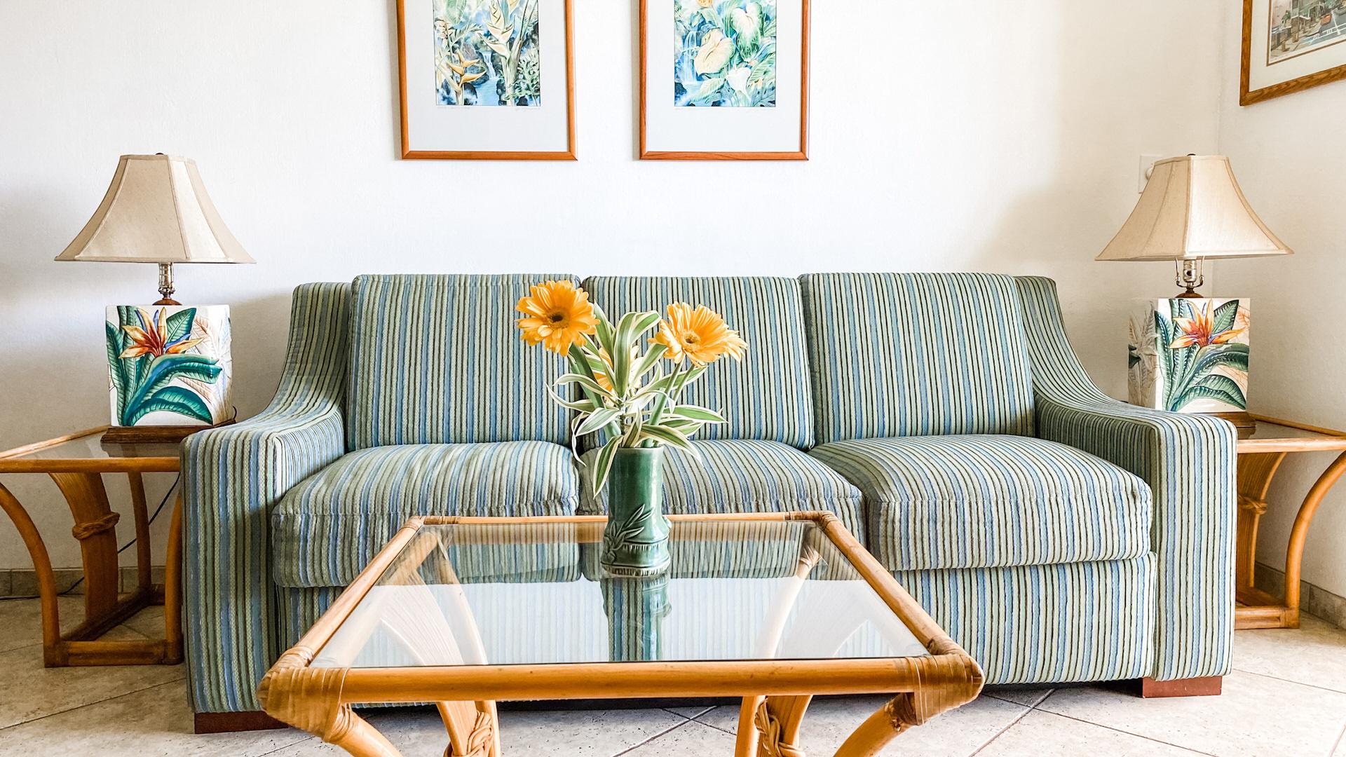 B207 Sofa and Coffee Table