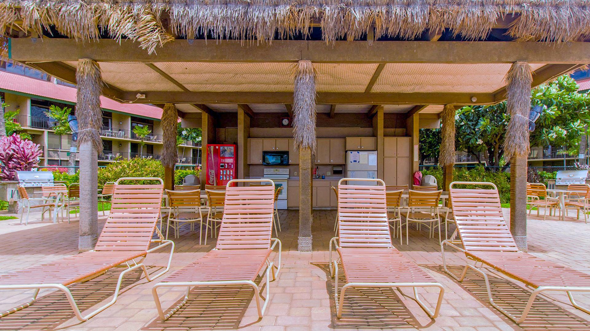 Resort Pool and Cabana