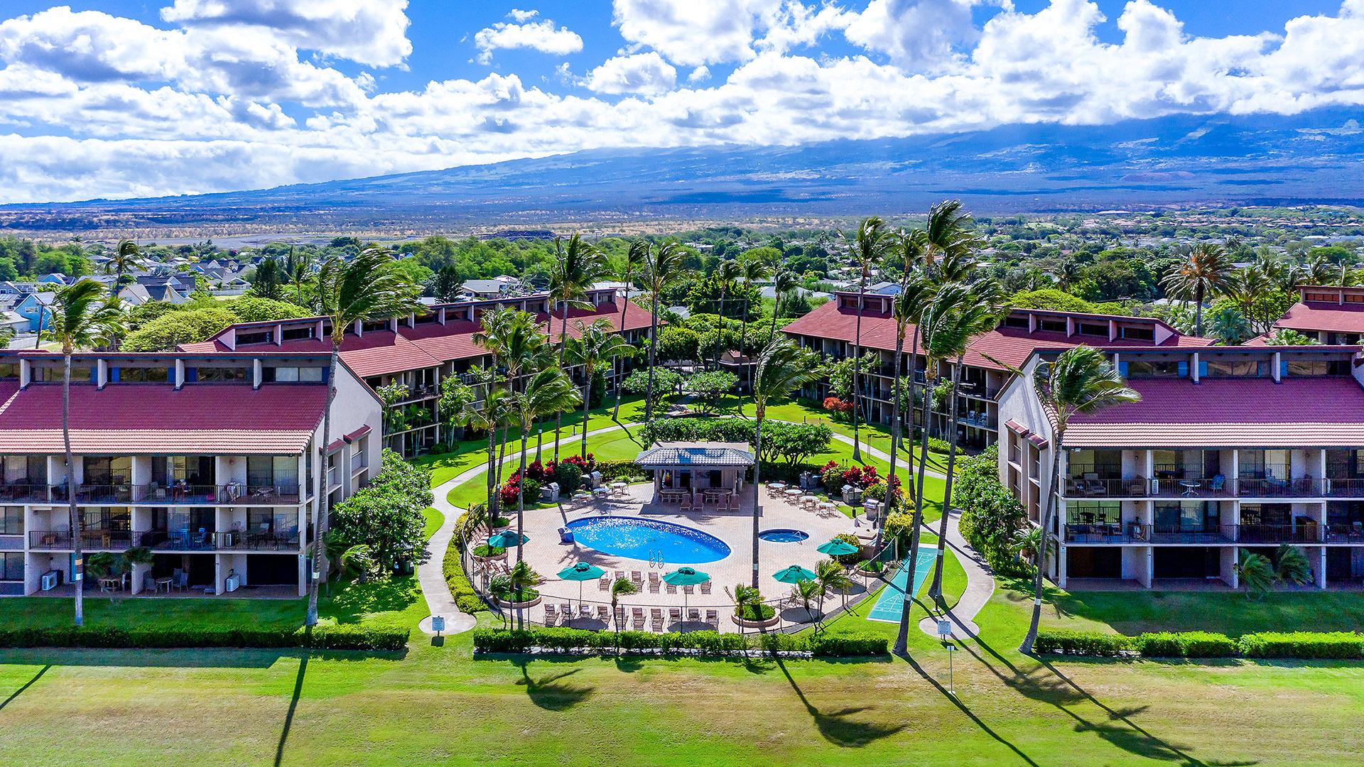 Luan Kai Resort on Maui with Haleakala