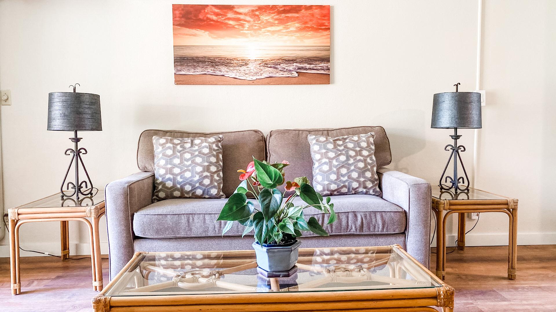 C101 Sofa and Coffee Table