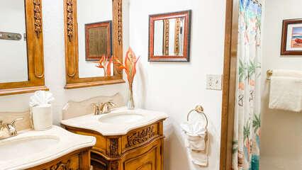 C107 Guest Bathroom Vanity