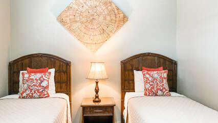 C305 Twin Beds in Guest Bedroom