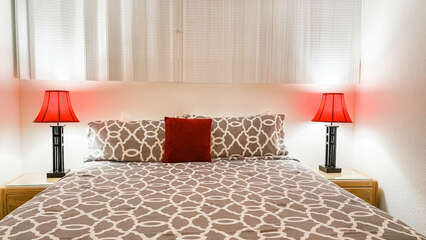 D103 Master Bedroom King Bed
