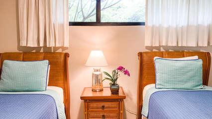 B103 Twin Beds in Guest Bedroom