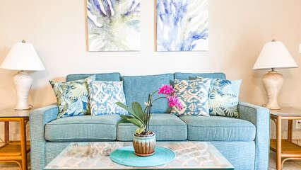 B103 Sofa and Coffee Table
