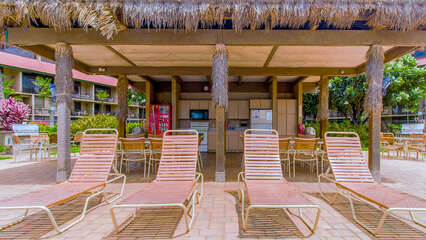 Resort Pool and Cabana