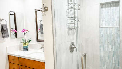 D105 Shower and Vanity