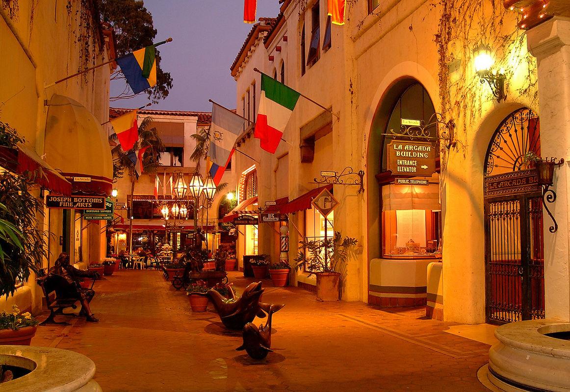 Great shopping in Santa Barbara - just up the road