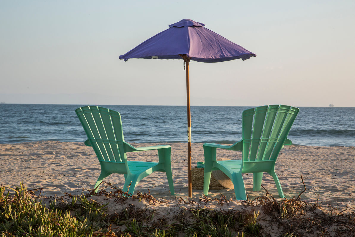More chairs, umbrellas and beach tables provided!