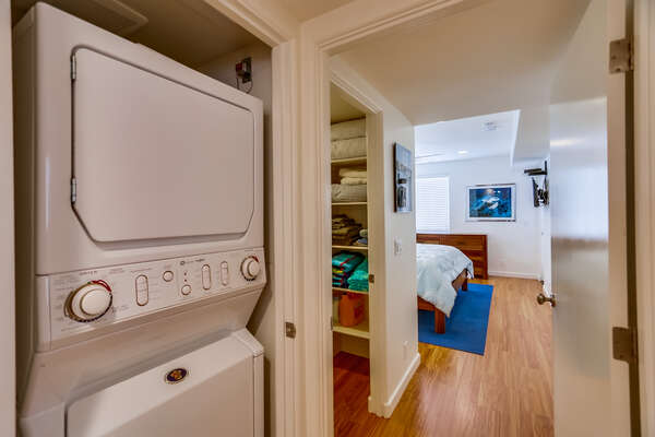 Laundry Room Off Master for Guest Use