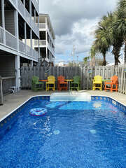 New Outdoor Pool furniture