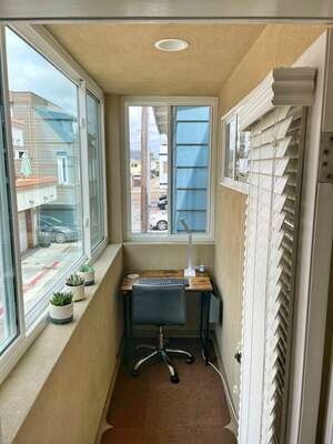 Office area with plenty of natural light