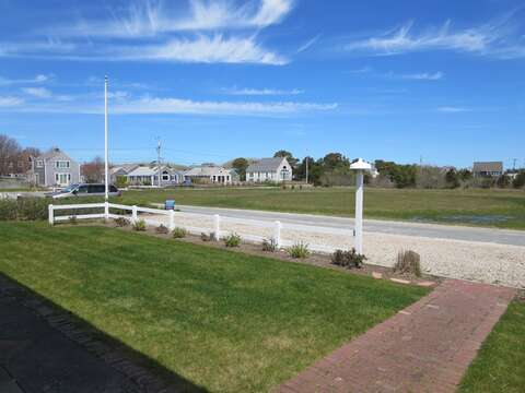 Entry to 22 Starfish Lane Chatham Cape Cod - 2 Private parking spaces for you-New England Vacation Rentals