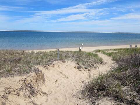 Beautiful walking path through the dunes at Monomoy Wildlife Refuge - Chatham Cape Cod - New England Vacation Rentals
