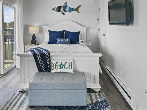 2nd Floor Bedroom 1-  With Queen Bed - 22 Starfish Lane Chatham Cape Cod - New England Vacation Rentals