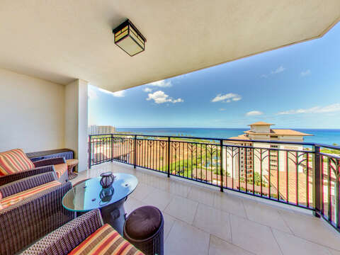 Beautiful Ocean View from Your Private Lanai Inside our Ko Olina Villa
