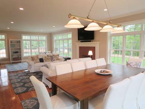 Plenty of natural light - 5 White Cedar Lane -Orleans- Cape Cod New England Vacation Rentals