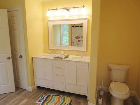 Double Vanity - Bathroom 3 - 5 White Cedar Lane -Orleans- Cape Cod New England Vacation Rentals