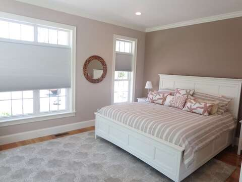 Bedroom 1 -King Bed 5 White Cedar Lane -Orleans- Cape Cod New England Vacation Rentals