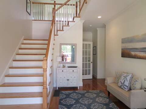 Head up to the second level-5 White Cedar Lane -Orleans- Cape Cod New England Vacation Rentals