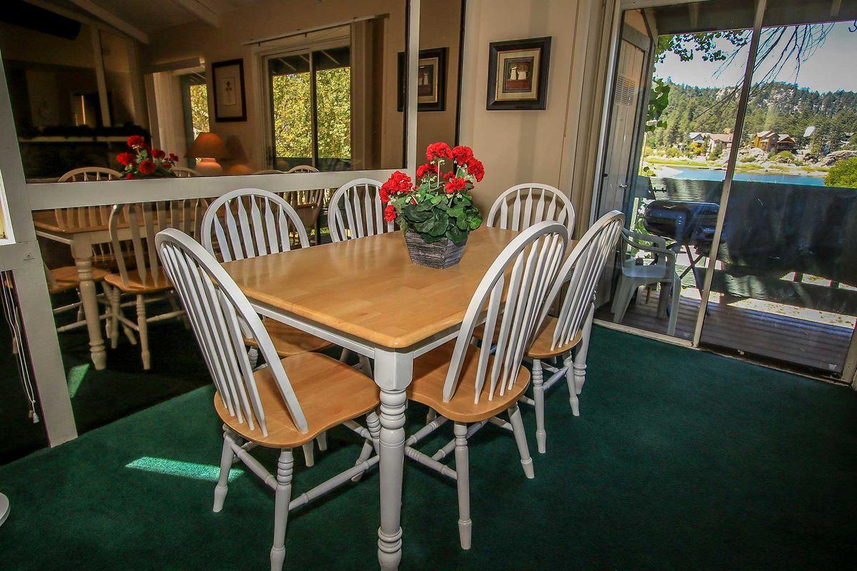 Dining Table Area / Balcony
