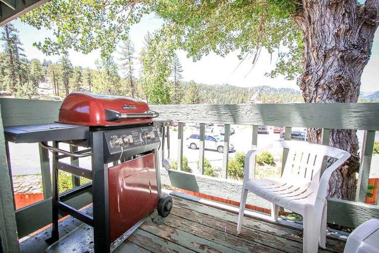 Propane BBQ, Private Balcony