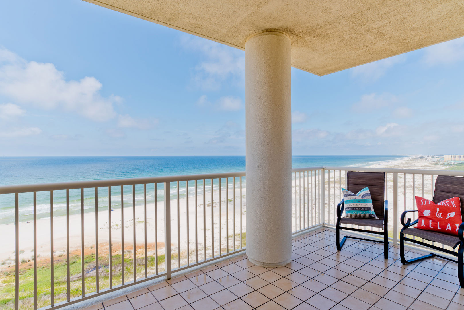 Sunset Paradise Is A West Corner Unit With Breathtaking Views And Wraparound Balcony!