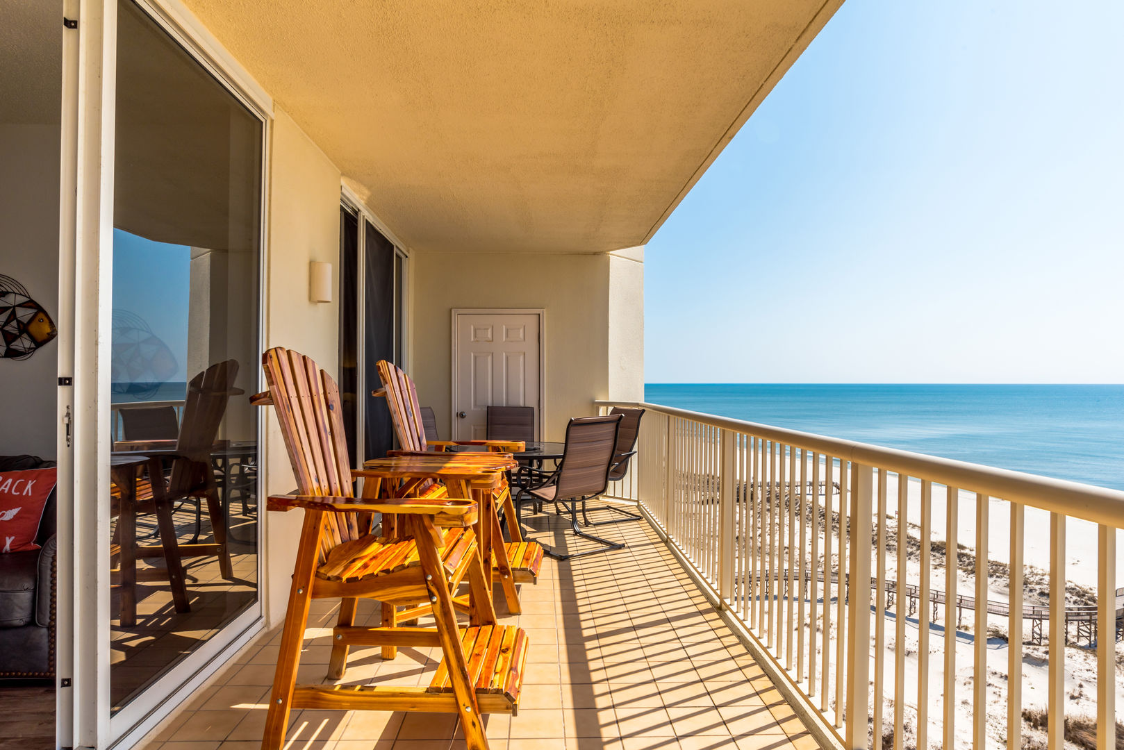 Sit Back, Relax, And Enjoy The View from this Guf Shores condo rental
