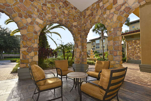 On-site facilities: outdoor seating