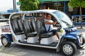 Free transportation to/from anywhere on the island