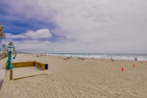 Mission Beach near our Vacation Rental in San DIego California