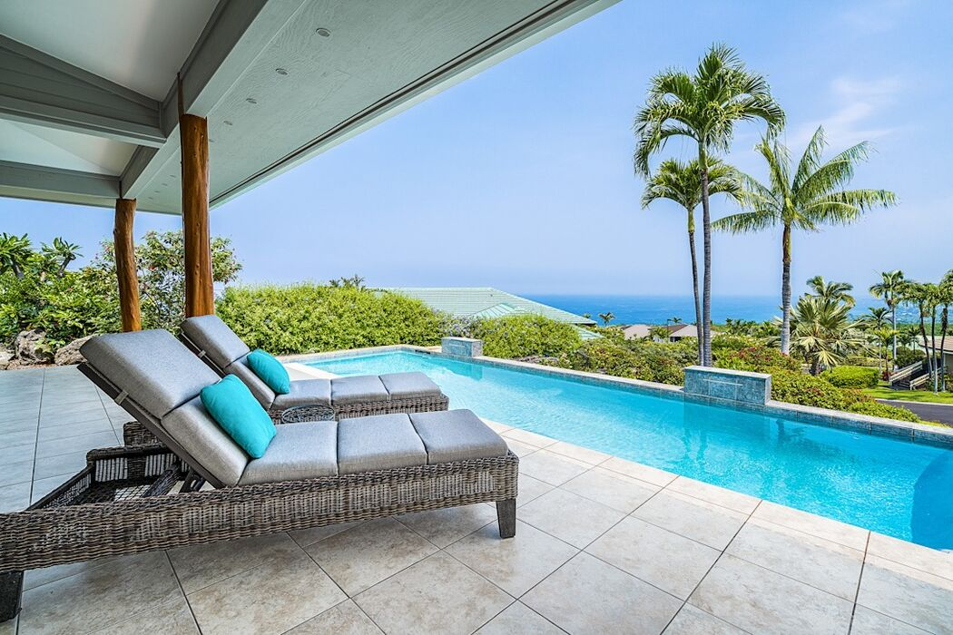 Views from Private Infinity Pool