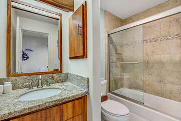 Bathroom 2 with Combined Tub & Shower