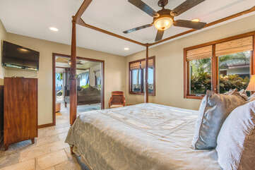 Master Suite 1 with King Bed in Makai Wing