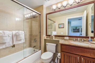 Bathroom 2 with Tub and Shower