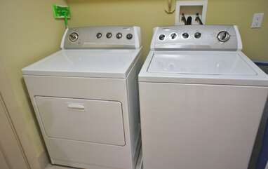 In Home Fully Size Washer/Dryer