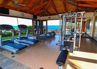 Complex Work Out Facility with Ocean Views