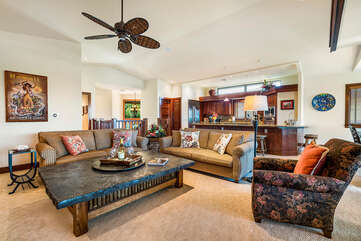 This great room open concept is ready for entertaining & family
