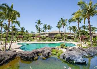 Mauna Lani Fairways Pool and Koi Pond