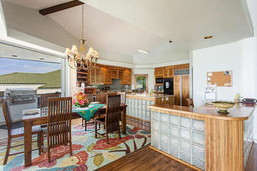 Open Kitchen And Dining Areas