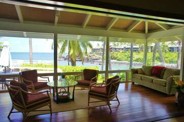 Sitting Area with Bay Views