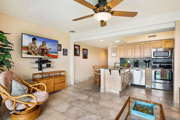 Open floor plan and updated at our Kona HI Rental