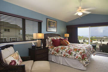 Master Bedroom with Cal King Size Bed
