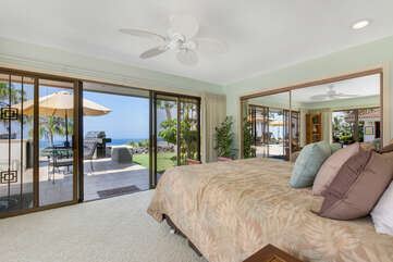 Bedroom 2 Opens to Lanai near BBQ area